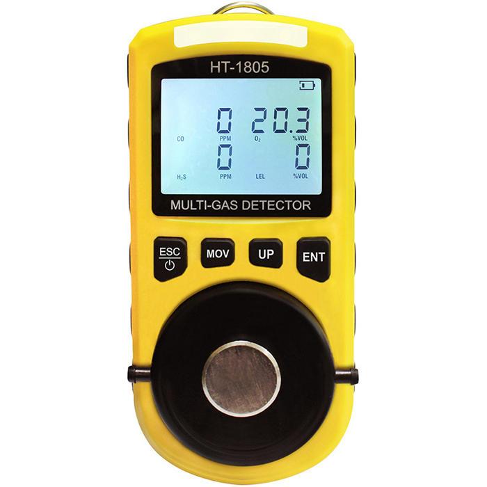 Máy đo 4 loại khí O2, CO, H2S, LEL HT1805