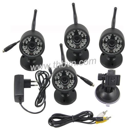 4 camera không dây