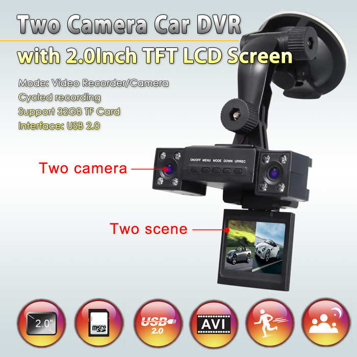 two camera hd cả dvr
