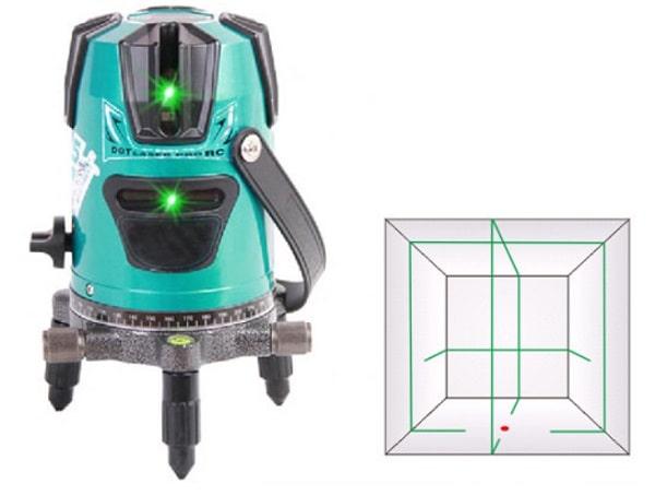 Máy bắn cốt tia laser SA511G trang bị 4 tia màu xanh sắc nét